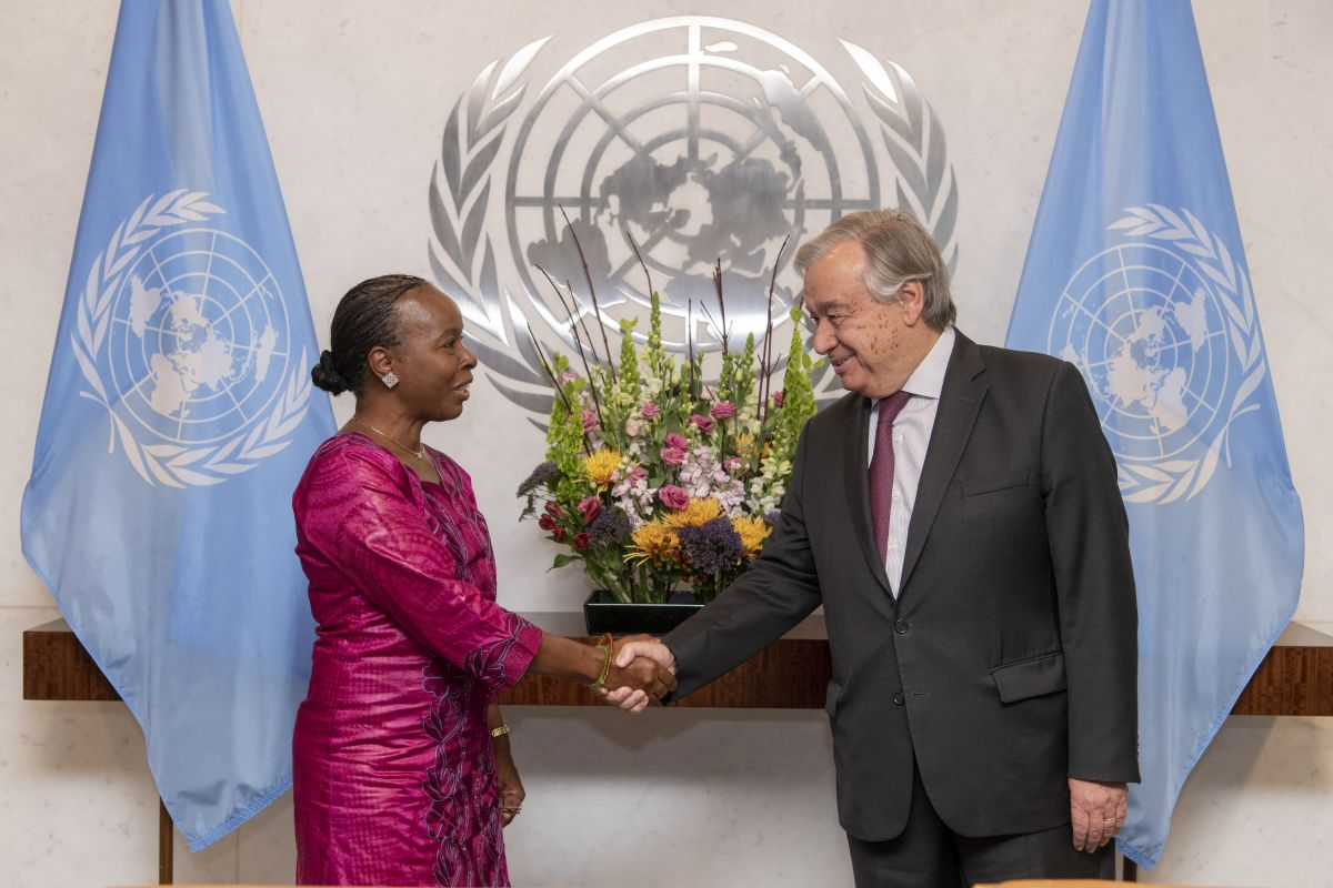 Генеральный секретарь ООН привёл к присяге заместителя Генерального секретаря по службам внутреннего надзора
