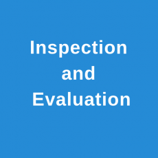 Inspection and Evaluation